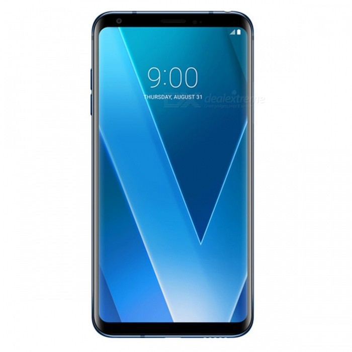 LG V30+ H930DS Mobile Phone with 4GB RAM 128GB ROM - BlueAndroid Phones<br>ColorBlueBrandLGModelV30+ H930DSQuantity1 setMaterialGlass + AluminumShade Of ColorBlueTypeBrand NewPower AdapterOthers,N/AHousing Case MaterialAluminumTime of Release2017.8Network Type2G,3G,4GBand Details2G bands: GSM 850 / 900 / 1800 / 1900 - SIM 1 &amp; SIM 2;  3G bands: HSDPA 850 / 900 / 1900 / 2100;  4G bands: LTE band 1(2100), 3(1800), 5(850), 7(2600), 8(900), 20(800), 28(700), 38(2600), 39(1900), 40(2300), 41(2500)Data TransferGPRS,EDGEWLAN Wi-Fi 802.11 a,b,g,n,acSIM Card TypeNano SIMSIM Card Quantity2Network StandbyDual Network StandbyGPSYes,A-GPSNFCYesBluetooth VersionOthers,Bluetooth 5.0Operating SystemOthers,Android 7.1.2CPU ProcessorQualcomm Snapdragon 835 MSM8998, 2017, 64 bitCPU Core QuantityOcta-CoreGPUQualcomm Adreno 540Language-Available Memory128GB ROMMemory CardSupports Micro SD CardMax. Expansion Supported-Size Range5.5 inches &amp; OverTouch Screen TypeCapacitive ScreenScreen ResolutionOthers,1440 x 2880pMultitouchOthers,YesScreen Size ( inches)6.0Camera type3 x CamerasCamera PixelOthers,16.0MP + 13.0MPFront Camera Pixels5.0 MPFlashYesTalk Time- hourStandby Time82 hourBattery Capacity3300 mAhBattery ModeNon-removableQuick ChargeQC 3.0featuresWi-Fi,GPS,BluetoothSensorProximity,Fingerprint authentication sensorWaterproof LevelOthers,IP68Dust-proof LevelIP68I/O Interface3.5mm,USB Type-cReference Websites== Will this mobile phone work with a certain mobile carrier of yours? ==Packing List1 x Cell Phone1 x Power Adapter1 x USB Cable1 x User Manual<br>