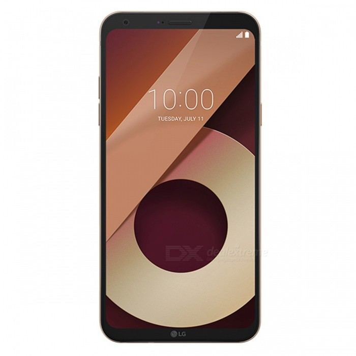 LG Q6 M700 Dual SIM 5.5 Smart Phone with 3GB RAM, 32GB ROM - Golden (EU Plug)Android Phones<br>RAM3GBROM32GBColorGoldenBrandLGModelQ6 M700Quantity1 setMaterialMetal + GlassShade Of ColorGoldTypeBrand NewPower AdapterEU PlugTime of Release2017Network Type2G,3G,4GBand DetailsGSM850/900/1800/1900;  UMTS2100 (B1), UMTS1900 (B2), UMTS850 (B5), UMTS900 (B8);  LTE2100 (B1), LTE1800 (B3), LTE2600 (B7), LTE800 (B20)Data TransferGPRS,HSDPA,EDGE,LTE,HSUPAWLAN Wi-Fi 802.11 b,g,n,Others,DLNA, Miracast, Wi-Fi Direct, Wi-Fi Tethering, Wi-Fi Calling (VoWiFi)SIM Card TypeNano SIMSIM Card Quantity2Network StandbyDual Network StandbyGPSYes,A-GPSBluetooth VersionBluetooth V4.2Operating SystemOthers,Google Android 7.0 (Nougat)CPU ProcessorQualcomm Snapdragon 435 MSM8940, 2016, 64 bit, octa-core, 28 nm, Qualcomm Adreno 505 GPUCPU Core QuantityOcta-CoreGPUQualcomm Adreno 505LanguageNot SpecifyAvailable MemoryNot SpecifySize Range5.5 inches &amp; OverTouch Screen TypeYesScreen ResolutionOthers,1080x2160MultitouchOthers,YesScreen Size ( inches)Others,5.5Camera type2 x CamerasCamera Pixel13.0MPFront Camera Pixels5.0 MPVideo Recording Resolution3840x2160 pixel, 30 fps;<br>1920x1080 pixel, 30 fpsFlashYesAuto FocusCD AF; PD AFTouch FocusYesOther Camera FunctionsHDR photo, HDR video, Red-eye reduction, Slow motion video,  Burst mode, Touch focus, Macro mode,  Panorama Photo, Face detection, Face tagging, Smile detection, Face retouchTalk Time16 hoursStandby Time- hourBattery Capacity3000 mAhBattery ModeNon-removablefeaturesWi-Fi,GPS,FM,Bluetooth,OTGSensorProximity,Compass,Accelerometer,Fingerprint authentication sensor,Others,3D gyro, Hall sensor, Light sensorWaterproof LevelIPX0 (Not Protected)I/O InterfaceMicro USB,3.5mmTV TunerNoRadio TunerFMReference Websites== Will this mobile phone work with a certain mobile carrier of yours? ==Packing List1 x Cell Phone1 x Power Adapter1 x USB Charging Cable1 x User Manual<br>