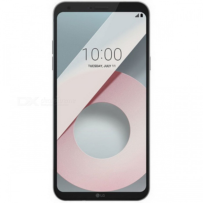 LG Q6 M700 Dual SIM 5.5 Smart Phone with 3GB RAM, 32GB ROM - White (EU Plug)Android Phones<br>RAM3GBROM32GBColorWhiteBrandLGModelQ6 M700Quantity1 setMaterialMetal + GlassShade Of ColorWhiteTypeBrand NewPower AdapterEU PlugTime of Release2017Network Type2G,3G,4GBand DetailsGSM850/900/1800/1900;  UMTS2100 (B1), UMTS1900 (B2), UMTS850 (B5), UMTS900 (B8);  LTE2100 (B1), LTE1800 (B3), LTE2600 (B7), LTE800 (B20)Data TransferGPRS,HSDPA,EDGE,LTE,HSUPAWLAN Wi-Fi 802.11 b,g,n,Others,DLNA, Miracast, Wi-Fi Direct, Wi-Fi Tethering, Wi-Fi Calling (VoWiFi)SIM Card TypeNano SIMSIM Card Quantity2Network StandbyDual Network StandbyGPSYes,A-GPSBluetooth VersionBluetooth V4.2Operating SystemOthers,Google Android 7.0 (Nougat)CPU ProcessorQualcomm Snapdragon 435 MSM8940, 2016, 64 bit, octa-core, 28 nm, Qualcomm Adreno 505 GPUCPU Core QuantityOcta-CoreGPUQualcomm Adreno 505LanguageNot SpecifyAvailable MemoryNot SpecifySize Range5.5 inches &amp; OverTouch Screen TypeYesScreen ResolutionOthers,1080x2160MultitouchOthers,YesScreen Size ( inches)Others,5.5Camera type2 x CamerasCamera Pixel13.0MPFront Camera Pixels5.0 MPVideo Recording Resolution3840x2160 pixel, 30 fps;<br>1920x1080 pixel, 30 fpsFlashYesAuto FocusCD AF; PD AFTouch FocusYesOther Camera FunctionsHDR photo, HDR video, Red-eye reduction, Slow motion video,  Burst mode, Touch focus, Macro mode,  Panorama Photo, Face detection, Face tagging, Smile detection, Face retouchTalk Time16 hoursStandby Time- hourBattery Capacity3000 mAhBattery ModeNon-removablefeaturesWi-Fi,GPS,FM,Bluetooth,OTGSensorProximity,Compass,Accelerometer,Fingerprint authentication sensor,Others,3D gyro, Hall sensor, Light sensorWaterproof LevelIPX0 (Not Protected)I/O InterfaceMicro USB,3.5mmTV TunerNoRadio TunerFMReference Websites== Will this mobile phone work with a certain mobile carrier of yours? ==Packing List1 x Cell Phone1 x Power Adapter1 x USB Charging Cable1 x User Manual<br>