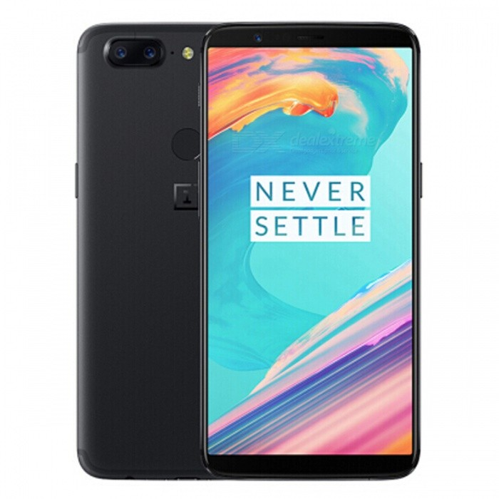 One Plus 5T A5010 Dual SIM 6.0 Smart Phone with 8GB RAM, 128GB ROM - Black (CN Plug)Android Phones<br>ColorBlackRAM8GBROM128GBBrandOnePlusModel5T A5010Quantity1 setMaterialMetal + GlassShade Of ColorBlackTypeBrand NewPower AdapterOthers,CN PlugNetwork Type2G,3G,4GBand DetailsGSM850/900/1800/1900;  UMTS2100 (B1), UMTS1900 (B2), UMTS1700/2100 (B4), UMTS850 (B5), UMTS900 (B8); CDMA800 (BC0); TD-SCDMA2000, TD-SCDMA1900; LTE2100 (B1), LTE1900 (B2), LTE1800 (B3),  LTE1700/2100 (B4), LTE850 (B5), LTE2600 (B7), LTE900 (B8), LTE700 (B12), LTE700 (B17), LTE800 (B18), LTE800 (B19), LTE800 (B20), LTE1900 (B25), LTE850 (B26), LTE700 (B28), LTE700 (B29), LTE2300 (B30); TD-LTE2000 (B34), TD-LTE2600 (B38), TD-LTE1900 (B39), TD-LTE2300 (B40), TD-LTE2500 (B41); LTE1700/2100 (B66)Data TransferGPRS,HSDPA,EDGE,LTE,HSUPAWLAN Wi-Fi 802.11 a,b,g,n,ac,Others,DLNA, Miracast, Wi-Fi Direct, Wi-Fi TetheringSIM Card TypeNano SIMSIM Card Quantity2Network StandbyDual Network StandbyGPSYes,A-GPSNFCYesBluetooth VersionOthers,Bluetooth V5.0Operating SystemAndroid 7.xCPU ProcessorQualcomm Snapdragon 835 MSM8998, 2017, 64 bit, octa-core, 32 Kbyte I-Cache, 32 Kbyte D-Cache, 2048 Kbyte L2, 10 nmCPU Core QuantityOcta-CoreGPUQualcomm Adreno 540LanguageNot SpecifyAvailable Memory128GBSize Range5.5 inches &amp; OverTouch Screen TypeYesScreen ResolutionOthers,1080x2160MultitouchOthers,YesScreen Size ( inches)6.0Camera type3 x CamerasCamera PixelOthers,23MP + 16MPFront Camera Pixels16 MPVideo Recording Resolution3840x2160 pixel, 30 fps; 1920x1080 pixel, 30 fpsFlashYesAuto FocusCD AF; PD AF; MFTouch FocusYesOther Camera FunctionsEIS, EIS (Video), OIS, OIS (Video), HDR Photo, HDR Video, Red-eye reduction, Slow motion video, Burst mode, Touch focus, Macro mode, Panorama Photo, Face detection, Smile detectionTalk Time- hourStandby Time- hourBattery Capacity3300 mAhBattery ModeNon-removablefeaturesWi-Fi,GPS,Bluetooth,NFC,OTGSensorProximity,Compass,Accelerometer,Fingerprint authentication sensor,Others,Hall sensor, 