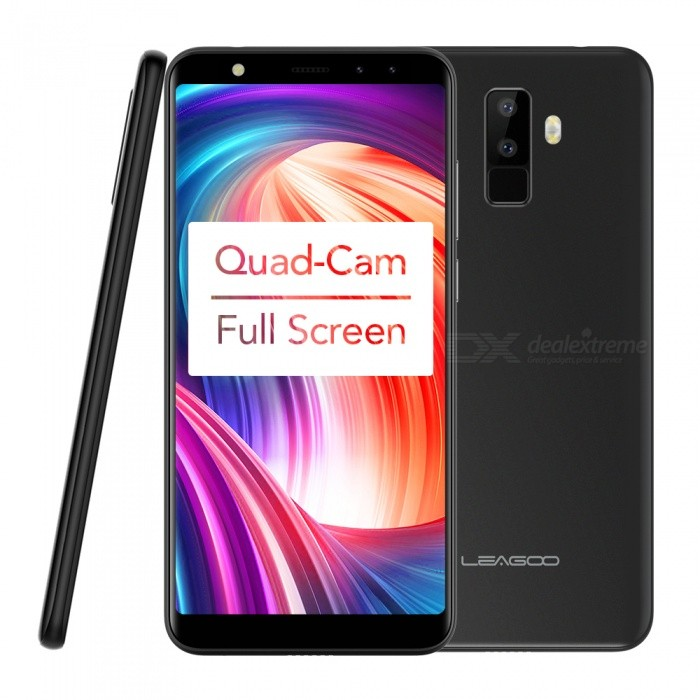 LEAGOO M9 Android 7.0 Dual SIM Quad-Core 3G 5.5 Full Screen Phone with 2GB RAM, 16GB ROMAndroid Phones<br>ColorBlackRAM2GBROM16GBBrandLeagooModelM9Quantity1 setMaterialmetalShade Of ColorBlackTypeBrand NewPower AdapterEU PlugHousing Case MaterialmetalNetwork Type2G,3GBand DetailsGSM: 850/900/1800/1900MHz     WCDMA: 900/2100MHzData TransferGPRSWLAN Wi-Fi 802.11 b,g,nSIM Card TypeMicro SIM,Nano SIMSIM Card Quantity2Network StandbyDual Network StandbyGPSYesNFCNoInfrared PortNoBluetooth VersionBluetooth V4.0Operating SystemOthers,Android 7.0CPU ProcessorMT6580A Quad Core 1.3GHzCPU Core QuantityQuad-CoreGPUMali-400 MP2LanguageEnglish / French / German / Spanish / Russian / Portuguese / Italian / Dutch(Dutch) / Czech(Czech) / Danish(Danish) / Finnish(Finnish) / Greek(Greek) / Hungarian(Hungarian) / Norwegian(Norwegian) / Polish(Polish)......Available Memory12GBMemory CardTF CardMax. Expansion Supported32GBSize Range5.5 inches &amp; OverTouch Screen TypeIPSScreen ResolutionOthers,1280*640 pxScreen Size ( inches)5.5Camera type4 x CamerasCamera PixelOthers,8.0MP  AF + 2.0MP FF Rear camera      5.0MP FF + 2.0MP FF Front cameraFront Camera Pixels5 MPFlashYesTalk Time20 hourStandby Time96 hourBattery Capacity2850 mAhBattery ModeNon-removablefeaturesWi-Fi,GPS,FM,BluetoothSensorG-sensor,Proximity,AccelerometerWaterproof LevelIPX0 (Not Protected)Dust-proof LevelNoShock-proofNoI/O Interface3.5mmSoftwareSMS(threaded view),MMS,Email,Push Email,IMFormat SupportedAVI,3GP, MP4, WMV, RMVB, MKV, MOV, ASF, RM, FLVJAVANoTV TunerNoRadio TunerFMWireless ChargingNoOther Features5.5  IPS + Dual Network Standby + Android7.0 + 2GB RAM + 16GB ROM + Wi-Fi + GPS + FM  +  5.0MP Front camera+ 8.0MP Rear camera +2850mAh battery + Quad-CoreReference Websites== Will this mobile phone work with a certain mobile carrier of yours? ==Packing List1 x Cell phone1 x Power adapter1 x User manual1 x Warranty manual<br>