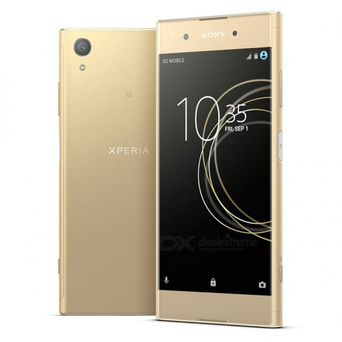Sony Xperia G3426 XA1 Plus Octa-Core 5.5 Smart Phone with 3GB RAM, 32GB ROM - GoldenAndroid Phones<br>ColorGoldenRAM3GBROM32GBBrandSONYModelG3426Quantity1 setMaterialMetal + GlassShade Of ColorGoldTypeBrand NewPower AdapterUS PlugTime of Release2017Network Type2G,3G,4GBand DetailsGSM850/900/1800/1900; UMTS2100 (B1), UMTS1900 (B2), UMTS850 (B5), UMTS900 (B8); LTE2100 (B1), LTE1800 (B3), LTE850 (B5), LTE2600 (B7), LTE900 (B8), LTE700 (B28); TD-LTE2600 (B38), TD-LTE1900 (B39), TD-LTE2300 (B40), TD-LTE2500 (B41)Data TransferGPRS,HSDPA,EDGE,LTE,HSUPAWLAN Wi-Fi 802.11 a,b,g,n,Others,DLNA, Miracast, Wi-Fi Direct, Wi-Fi TetheringSIM Card TypeNano SIMSIM Card Quantity1Network StandbySingle StandbyGPSYes,A-GPSNFCYesBluetooth VersionBluetooth V4.2Operating SystemAndroid 7.xCPU ProcessorMediaTek MT6757 (Helio P20), 2016, 64 bit, octa-core, 16 nm, ARM Mali-T880 GPUCPU Core QuantityOcta-CoreGPUARM Mali-T880MP2LanguageNot SpecifyAvailable Memory32GBSize Range5.5 inches &amp; OverTouch Screen TypeYesScreen Resolution1920*1080MultitouchOthers,YesScreen Size ( inches)5.5Camera type2 x CamerasCamera PixelOthers,23MPFront Camera Pixels8.0 MPVideo Recording Resolution1920x1080 pixel, 30 fpsFlashYesAuto FocusCD AF, PD AF, Laser AFOther Camera FunctionsHDR photo, Red-eye reduction, Touch focus, Macro mode, Panorama Photo, Face detection, Face tagging, Smile detection, Face retouchTalk Time- hourStandby Time- hourBattery Capacity3430 mAhBattery ModeNon-removablefeaturesWi-Fi,GPS,FM,Bluetooth,NFCSensorProximity,Compass,Accelerometer,Fingerprint authentication sensor,Others,Hall sensor, Light sensor, GyroscopeWaterproof LevelOthers,YesDust-proof LevelYesI/O Interface3.5mm,USB Type-cReference Websites== Will this mobile phone work with a certain mobile carrier of yours? ==Packing List1 x Cell Phone1 x Power Adapter1 x USB Charging Cable1 x User Manual<br>