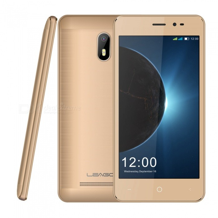 LEAGOO Z6 Android 6.0 3G Phone w/ 1GB RAM, 8GB ROM, 2000mAh Large Battery - GoldenAndroid Phones<br>ColorGoldenRAM1GBROM8GBBrandLeagooModelZ6Quantity1 setMaterialMetalShade Of ColorGoldTypeBrand NewPower AdapterEU PlugHousing Case MaterialMetalNetwork Type2G,3GBand DetailsGSM: 850/900/1800/1900MHz   WCDMA: 900/2100MHzData TransferGPRSWLAN Wi-Fi 802.11 b,g,nSIM Card TypeMicro SIM,Nano SIMSIM Card Quantity2Network StandbyDual Network StandbyGPSYesNFCNoInfrared PortNoBluetooth VersionBluetooth V4.0Operating SystemAndroid 6.0CPU ProcessorMT6580M Quad Core 1.3GHzCPU Core QuantityQuad-CoreGPUMali 400LanguageAfrikaans / Indonesian / Malay / Czech / Danish / Germany(German) / Germany (Austria) / English(United Kingdom) / English(United States) / Spanish(Espana) / Spanish(Estados Unidos) / Filipino / French...Available Memory6GBMemory CardTFCardMax. Expansion Supported32GBSize Range4.5~4.9 inchesTouch Screen TypeIPSScreen Resolution854*480Screen Size ( inches)Others,4.97Camera type2 x CamerasCamera Pixel5.0MPFront Camera Pixels2.0 MPFlashNoTalk Time24 hoursStandby Time72 hoursBattery Capacity2000 mAhBattery ModeNon-removablefeaturesWi-Fi,GPS,FM,BluetoothSensorG-sensorWaterproof LevelIPX0 (Not Protected)Dust-proof LevelNoShock-proofNoI/O InterfaceMicro USBSoftwareFacebook, Twitter, Google browser, Google mapFormat SupportedWAV, AMR, MP3, MID, 3GP, RM, MPEG-4, AVIJAVANoTV TunerNoRadio TunerFMWireless ChargingNoOther Features4.97 IPS + Dual Network Standby + Android6.0 +1GB RAM + 8GB ROM + Wi-Fi + GPS + FM  +  5.0MP Rear camera + 2000mAh battery + Quad-Core + Bluetooth 4.0Reference Websites== Will this mobile phone work with a certain mobile carrier of yours? ==Packing List1 x Cell phone1 x EU Plug Power adapter1 x User manual1 x Warranty manual<br>