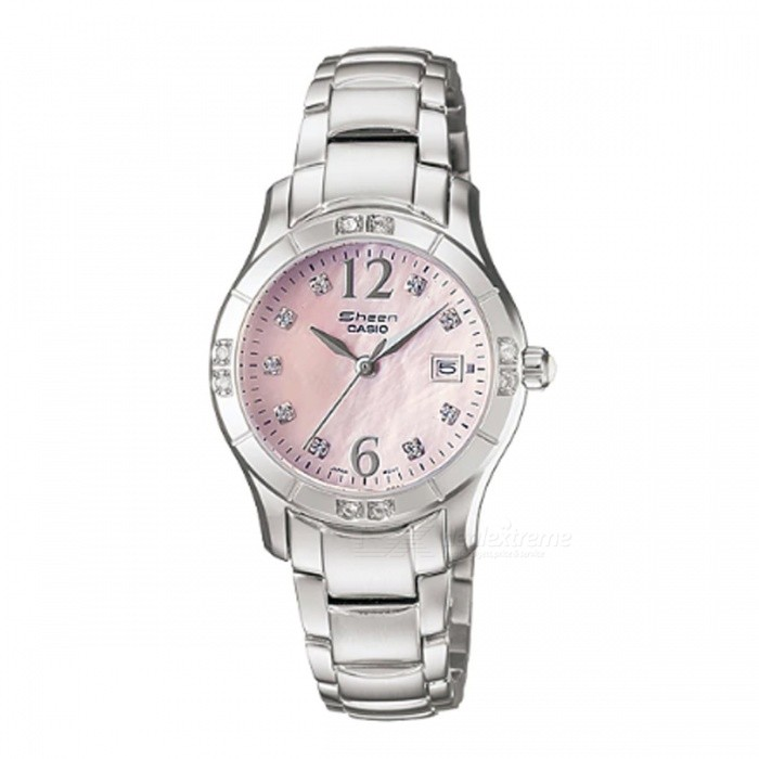 Casio SHN-4019DP-4A 3-Hand Analog Watch - SilverWomens Dress Watches<br>ColorSilverModelSHN-4019DP-4AQuantity1 pieceShade Of ColorSilverCasing MaterialStainless SteelWristband MaterialStainless SteelGenderWomenSuitable forAdultsStyleWrist WatchTypeFashion watchesDisplayAnalogMovementQuartzDisplay Format12 hour formatWater ResistantOthers,Water ResistantDial Diameter3.45 cmDial Thickness0.91 cmBand Width0 cmWristband Length0 cmBattery1 x SR621SWPacking List1 x SHN-4019DP-4A<br>