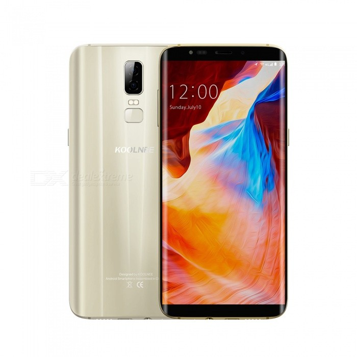 KOOLNEE K1 Android 7.0 4G 6.01 Phone with 4GB RAM, 64GB ROM, 3190mAh Large Battery - GoldenAndroid Phones<br>RAM4GBROM64GBColorGoldBrandOthers,KOOLNEEModelK1Quantity1 setMaterialotherForm  ColorGoldenTypeBrand NewPower AdapterEU PlugHousing Case MaterialotherNetwork Type2G,3G,4GBand DetailsGSM:850(B5)/900(B8)/1800(B3)/1900(B2) WCDMA:900(B8)//2100(B1)/850(B5                                                   FDD:2100B1)//1800(B3)//2600(B7)//800(B20)Data TransferGPRS,LTEWLAN Wi-Fi 802.11 b,g,nSIM Card TypeOthersSIM Card Quantity2Network StandbyDual Network StandbyGPSYesNFCNoInfrared PortNoBluetooth VersionBluetooth V4.0Operating SystemOthers,Android 7.0CPU ProcessorMTK6750T  1.5GHz Octa-coreCPU Core QuantityOcta-CoreGPU/LanguageIndonesian, Malay, Catalan, Czech, Danish, German, Estonian, English, Spanish, Filipino, French, Croatian, Italian, Latvian, Lithuanian, Hungarian, Dutch, Norwegian, Polish, Portuguese, Romanian,RAM4GBROM64GBAvailable Memory58GBMemory CardTFMax. Expansion Supported128GBSize Range5.5 inches &amp; OverTouch Screen TypeIPSScreen ResolutionOthersScreen Size ( inches)Others,6.01Camera type3 x CamerasCamera PixelOthers,16.0MP /2.0MPFront Camera Pixels8.0 MPFlashYesTalk Time36 hoursStandby Time200 hoursBattery Capacity3190 mAhBattery ModeNon-removablefeaturesWi-Fi,GPS,FM,BluetoothSensorG-sensor,ProximityWaterproof LevelIPX0 (Not Protected)Dust-proof LevelNoShock-proofNoI/O InterfaceOthers,USB 2.0SoftwareFacebook, Google browser, Google mapFormat SupportedMIDIMP3AAC ARM AWB WAV FLAC   3GPPMPEG-4H.264WMV9VP9JAVANoTV TunerNoRadio TunerFMWireless ChargingNoOther Features6.01 IPS + Dual Network Standby + Android7.0 +4GB RAM + 64GB ROM + Wi-Fi + GPS + FM  +  16.0MP Rear camera + 3190mAh battery + Octa-core + Bluetooth 4.0Reference Websites== Will this mobile phone work with a certain mobile carrier of yours? ==Packing List1 x Phone 1 x English user manual1 x Retrieve card pin<br>