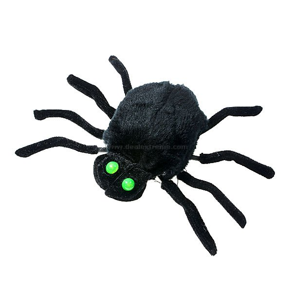 Sound Activated Scary Moving Spider (Drops from the Ceiling)