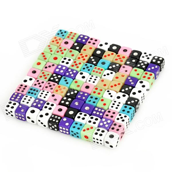 Super Mini Dice (Colorful 100-Pack)
