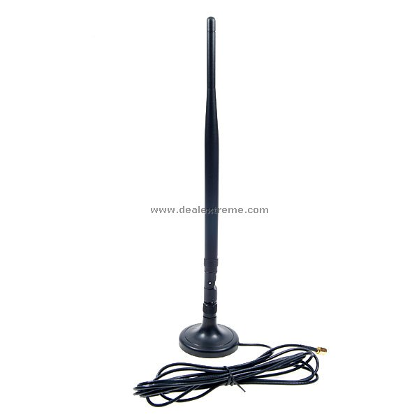 2.4GHz 7dBi Hi-Gain Omni-Directional Antenna for Wifi Routers (2400-2500MHz Range)