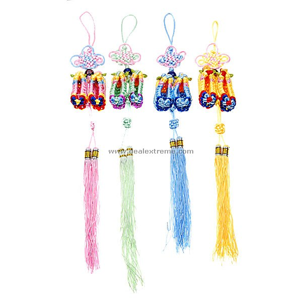 Chinese Knots Hanging Ornaments Strap (Assorted 2-Pack)