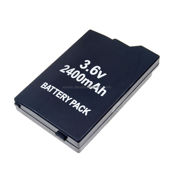 3.6V 2400mAh Lithium Battery Pack for PSP Slim/2000