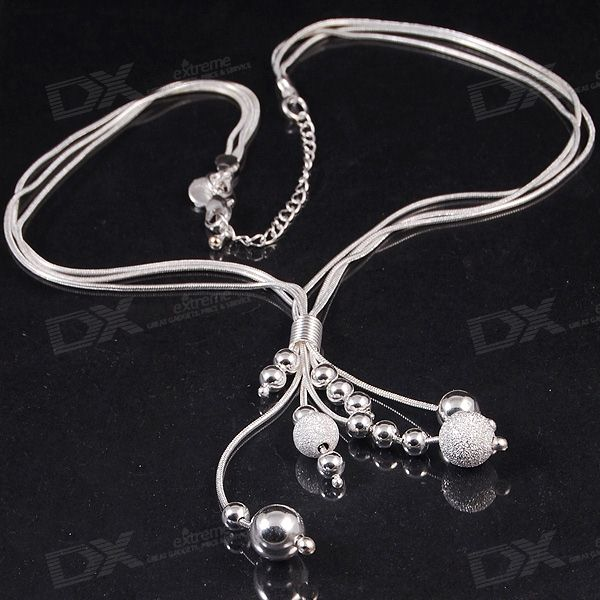 Glamorous 925 Silver Necklace