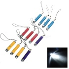 Mini LED Flashlight Keychains (3*AG3 / 12PCS)