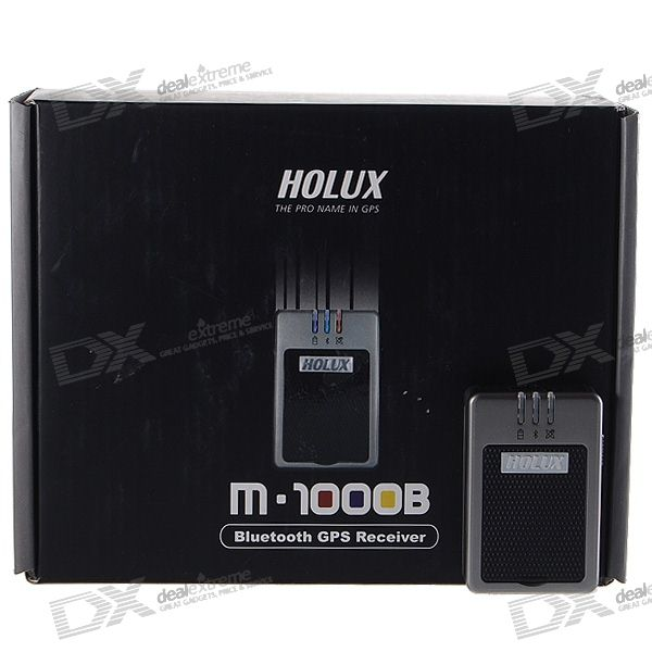 Holux Car GPS Bluetooth Receiver (M-1000B)