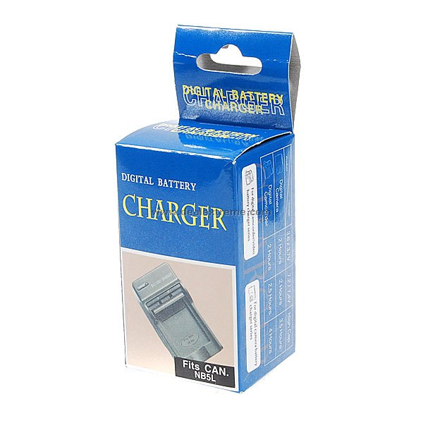 Ac Battery Charger Cradle For Canon Nb5l Digital Camera