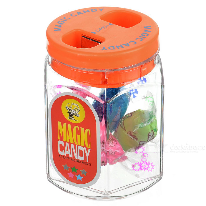Shock-Your-Friend Powered Magic Candy Jar (Practical Joke)