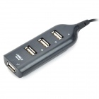 Power Bar Style USB 2.0 4-Port Hub (50-cm Cable)