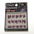 1 Card Nail Art 3D Stickers-DIY