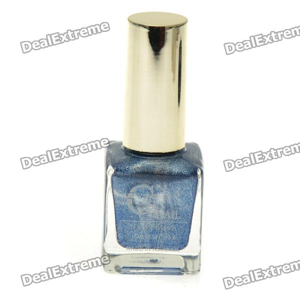 Local Brand Quicksand Nail Polish - Blue