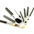 Designer's Makeup Cosmetic Brushes Set with Case (8-Piece)