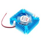 Snowflake DC Brushless Cooling Fan for PC Video Card