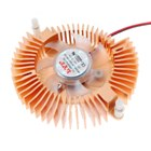 DC Brushless Transparent Cooling Fan for PC Video Card (Color Assorted)