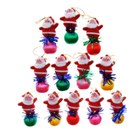 Cute Santa Claus Christmas Tree Hanging Ornaments (12-Pack)