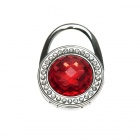Garnet Austrian Crystal Handbag Purse Hook Hanger