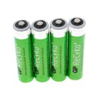 GP ReCyko Rechargeable AAA 1.2V 800mAh Battery (4-Pack)