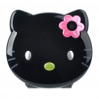 "C109 Nettes Hallo Kitty Armbanduhr Stil 1.4 ""LCD Quadband GSM Handy w / Camera - Black"