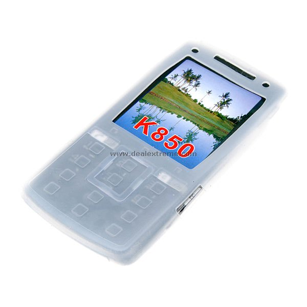 Silicone Case for Sony Ericsson K850