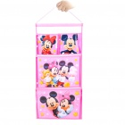 Cartoon Mickey and Minnie Mouse Figure Pattern Document Letter Holder