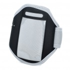 Sporty Armband for iPhone 3G/4 - Grey + Black