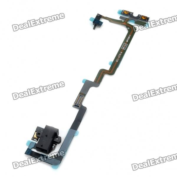 Replacement Headphone Audio Jack Flex Cable for Iphone 4 CDMA  replacement headphone audio jack flex cable for iphone 4 cdma