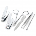 6-in-1 Stainless Steel Beauty Accessories Set