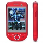 "H808 3.0"" Touch Screen Dual SIM Dual Network Standby Quadband GSM TV Cell Phone w/ Wi-Fi/JAVA"