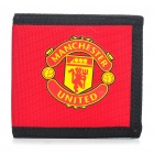 Football/Soccer Team 3-Fold Nylon Wallet - Man Utd