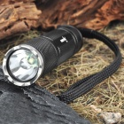 FandyFire 2100 1-Mode 350-Lumen White LED Flashlight with Strap (1 x 18650 / 2 x 16340)
