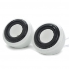 Porcelain USB Powered Speaker - Pair