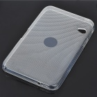 Protective PVC Back Case with Screen Guard and Cleaning Cloth for Dell Streak 7 - Transparent