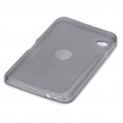 Protective PVC Back Case with Screen Guard and Cleaning Cloth for Dell Streak 7 - Grey