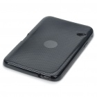 Protective PVC Back Case with Screen Guard and Cleaning Cloth for Dell Streak 7 - Black