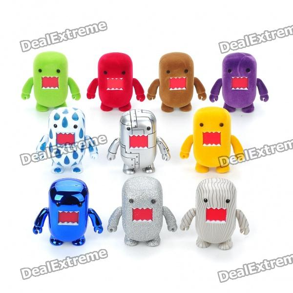 Cute Domo Kun Figures Set (10-Pack/Assorted) 8 10cm 8pcs set iron man action figures pvc brinquedos collection figures toys for christmas gift with retail box