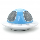 Unique UFO Shaped Speaker with Microphone/Earphone Interfaces (USB)