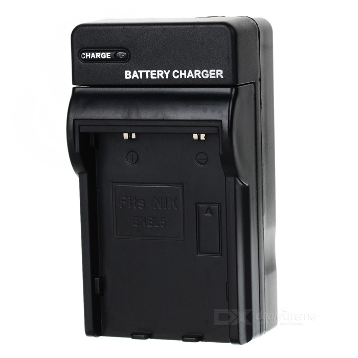 AC Battery Charger Cradle for Nikon EL5 Digital Camera padlock ka 1 1 16 in h 5 pin aluminum