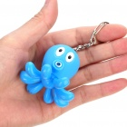 Cute Octopus Blue Light LED Flashlight with Sound Effects (3 x AG10/Color Assorted)