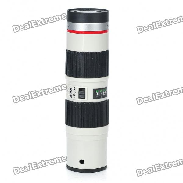 Unique SLR Zoom Lens Shaped Handheld Cooling Fan (2 x AAA)