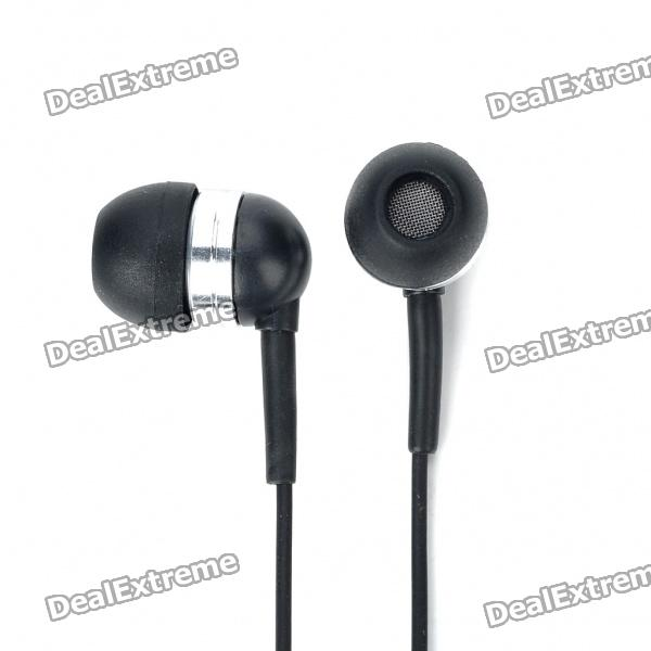 Stylish Headset w/ Microphone/Volume Control for Dell Mini 5 Streak (3.5mm Jack/120CM-Cable)
