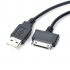 Car Cigarette Power USB Adapter w/ USB Data + Charging Cable for Dell Streak Mini 5 (DC 10~30V)