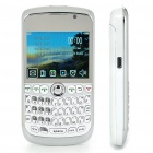 "K9800 2.3"" LCD Quad SIM Quad Network Standby Quadband GSM TV Cell Phone w/ WIFI+JAVA - White"