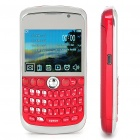 "K9800 2.3"" LCD Quad SIM Quad Network Standby Quadband GSM TV Cell Phone w/ WIFI+JAVA - Red"